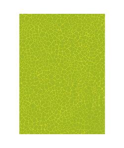Vel Decopatch papier Craquelé grof  lime groen
