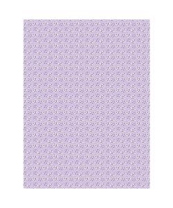 Vel Decopatch papier Bolletjes lila/paars/wit