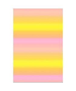 Vel Decopatch papier Doorlopende kleuren zalm/oranje/geel/roze