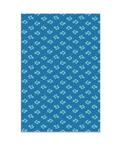 Vel Decopatch papier Patroon blauw/groen