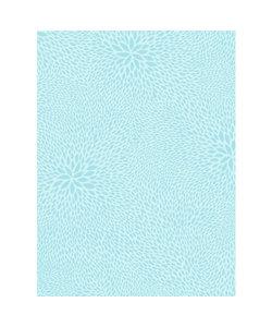 Vel Decopatch papier Patroon lichtblauw