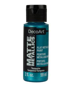 DecoArt Matte Metallic 59ml Turquoise