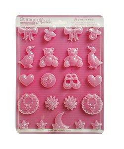 Stamperia Soft Maxi Mould 21x29,7cm Baby
