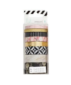 Heidi Swapp Washi Tape Set Magnolia Jane 8st