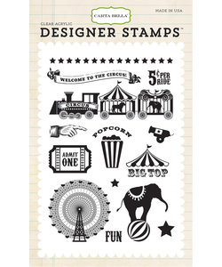 Carta Bella Designer stamp Circus