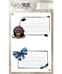 COOSA Crafts Stempel Envelope Presents