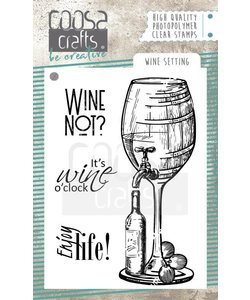 COOSA Crafts Stempel Wine Setting
