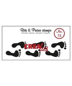 Crealies Stempel Bit & Pieces Footprints