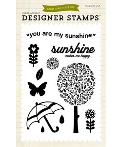 Echo Park Stempel You Are My Sunshine