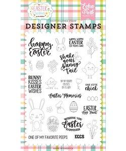 Echo Park Designer Stamps Easter Wishes
