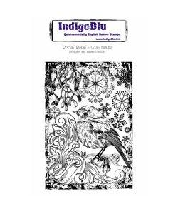 Indigo Blu rbb stamp A6 Rockin Robin