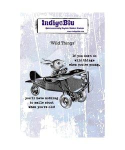 Indigo Blu rbr stamp A6 Wild Things