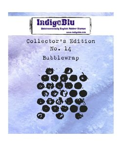 IndigoBlu rbbr stamp Collectors No.14 Bubblewrap