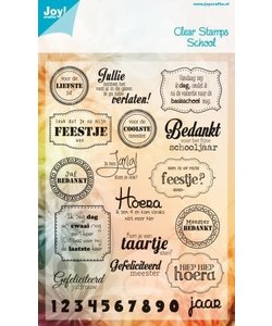 Joy Clear stamp school