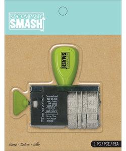 K&Company smash stamp date