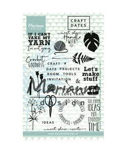 Marianne Design Stempel Schaar Garen 1