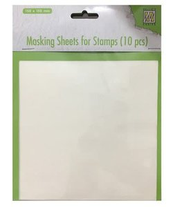 Masking Sheets for stamps 10st