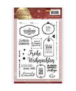 Precious Marieke Stempel tekst Christmas Kerst Dts