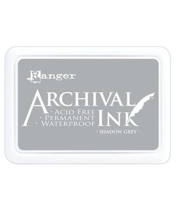 Ranger Archival Ink Pad Shadow Grey