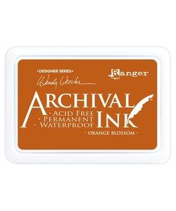 Ranger Archival Ink Pad Wendy Vecchi Orange Blosso