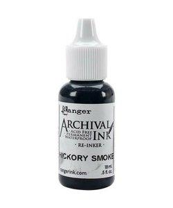 Ranger Archival Ink Re-Inker Hickory Smoke