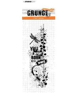 Studio Light Grunge Collection Stempel nr. 343