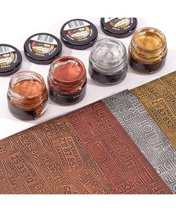 COOSA Crafts Tube Gilding Wax Metal