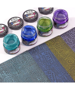 COOSA Crafts Tube Gilding Wax Metalic Colors