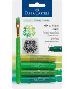 Faber Castell Gelatos Mix & Match Groen