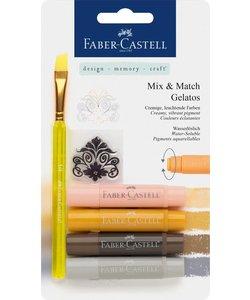 Faber Castell Gelatos Mix & Match Naturel
