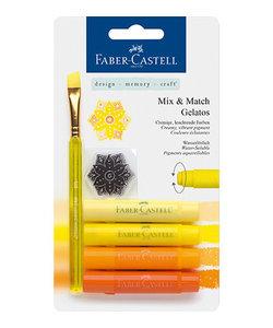 Faber Castell Gelatos Mix & Match Geel Oranje