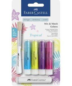 Faber Castell Gelatos Mix & Match Tropical