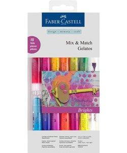 Faber Castell Gelatos Mix & Match Brights 15st
