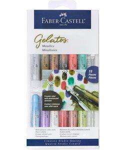 Faber Castell Gelatos Mix & Match Metallics 15 del