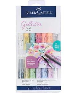 Faber Castell Gelatos Mix & Match Pastels 15 delig