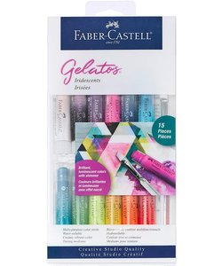 Faber Castell Gelatos Mix & Match Iridescents