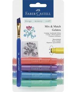 Faber Castell Gelatos Mix & Match Metallics