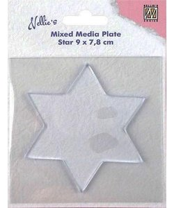 Nellie's Choice Mixed Media Plate Ster