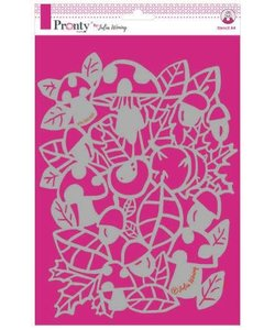Pronty Julia Woning Stencil A4 Autumn