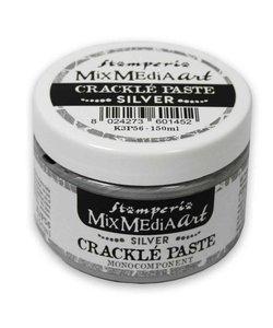 Stamperia Crackle paste 150 ml Silver