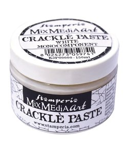 Stamperia Crackle paste 150 ml White