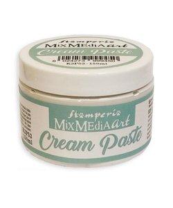 Stamperia Cream paste 150 ml. white