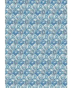 Stamperia rice paper A3 BlueTile