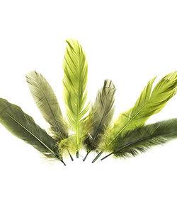 Veren Mix Groen 12,5-17,5cm 15st