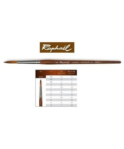 Raphael Precision Aquarelverf Penseel 8504 Rond 6/0