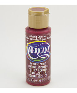 Americana Decor Acryl 59ml Alizarin Crimson