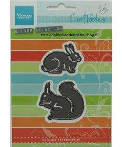 Marianne D. Craftable konijn/eekhoorn