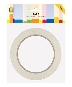 Dubbelzijdig klevend paper tape 12 mm x 20 m
