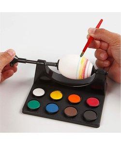 Eieren Schilderen palet met 8 kleuren