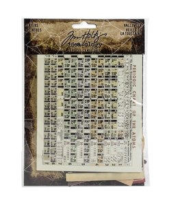 Tim Holtz Idea-Ology Layers Halloween 28 pcs.